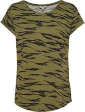 Nisha T-shirt Top Grøn MbyM