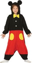 Mikke Mus Inspirert Kigurumi Kostyme til Barn