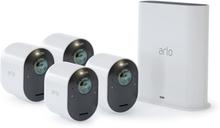 Arlo Ultra Smarthubi & 4 Kameraa