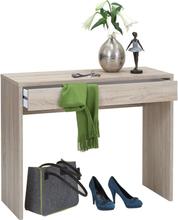 FMD Skrivbord med bred låda 100x40x80 cm ek