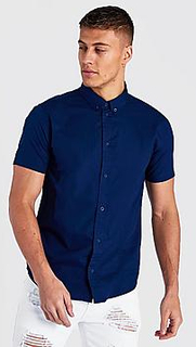 Short Sleeve Cotton Poplin Shirt