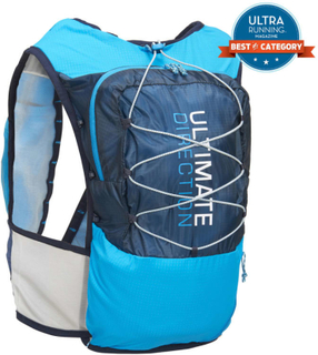 Ultimate Direction Ultra Vest 4.0 treningsryggsekker Blå S