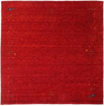 Gabbeh Loom Frame - Röd matta 200x200 Orientalisk, Kvadratisk Matta