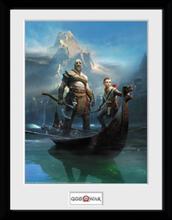 God Of War - Key Art - Inramad bild - multicolor