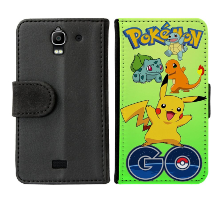 Huawei Y360 Plånboksfodral Pokemon Go - CDON.COM