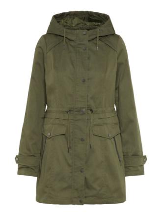 VERO MODA Long Jacket Women Green