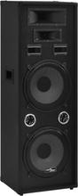 vidaXL professionel passiv hi-fi-scenehøjttaler 1000 W sort