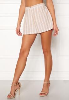 BUBBLEROOM Chiselle shorts Beige / Striped 34