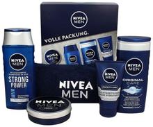 Nivea Men Gift Set 75 ml + 150 ml + 250 ml + 250 ml + 1 kpl