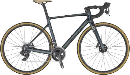 Scott Addict RC 20 Landsvägscykel Kolfiber, Force eTap AXS 2x12, 7,81 kg