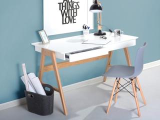 Skrivebord Hvid Sheslay
