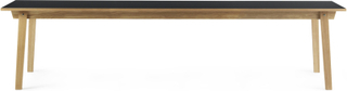 Normann Copenhagen - Slice Linoleum Bord 90x300cm, Grå