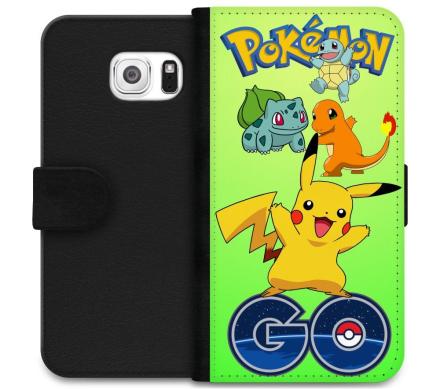 Samsung Galaxy S6 Plånboksfodral Pokemon Go - CDON.COM