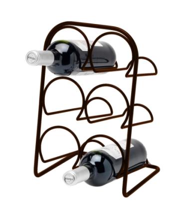 Hahn Kitchenware Pisa Vinställ 6 flaskor Antik/Brons