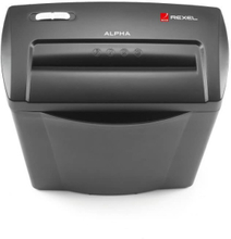 REXEL Paperisilppuri Alpha SC