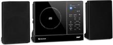 Connect Vertical internetradio 2x5 W RMS CD IR/UKW/DAB+ Spotify BT svart
