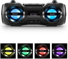 Soundblaster M Boombox Bluetooth 3.0 CD/MP3/USB FM LED 50W max.