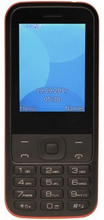 Mobiltelefon för seniorer Denver Electronics FAS-24100M 2,4'' Dual SIM Bluetooth Svart