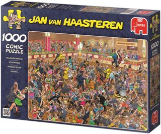 Jan Van Haasteren Pussel - På danstävling 1000 Bitar