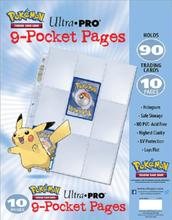 Ultra Pro - Pokemon 9 Pocket Pages 10-Pack