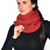 Winter Snood Scarf red