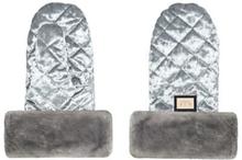 Handmuff, Grey Velvet, Bjällra of Sweden