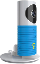 Trådløst Babykamera / Overvågningskamera - Night Vision - Lyseblå