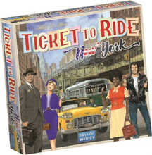 Ticket To Ride, New York Expansion