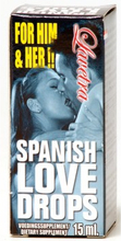 Spanish Fly Lovedrops