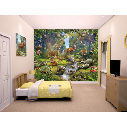Walltastic fototapet Animals Forest 43060