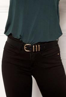 Pieces Lea Jeans Belt Black/Gold 90