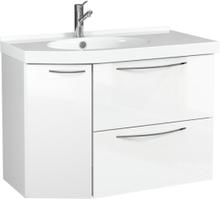 Temal Tvättställsskåp med lådor Mondo Högblank-67,5-Höger-40