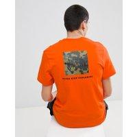 The North Face Red Box T-Shirt in Orange - Orange