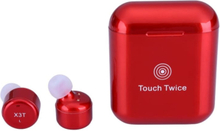 eStore X3T Bluetooth Hörlurar med Touchfunktion - Röd