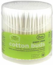 Pretty Paper Stem Cotton Buds 200 stk