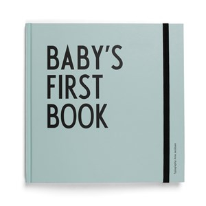 Design Letters Baby´s First Book - Turquoise