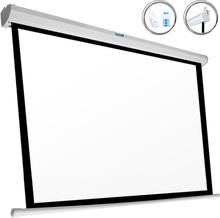 "Elektrisk Panoramaduk iggual PSIPS243 110"" (243 x 137 cm) Vit"
