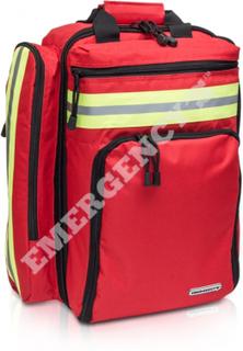 Ryggsäck Emergencys för avancerad sjukvård Röd