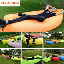 Occident Style Inflatable Sofa Outdoor Bean Bag Sofas Outdoor Beach Lazy Sleeping Bag Inflatable Bed Foldable Inflatable Sofa