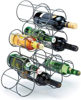 Bar Craft vinställ metall 12 flaskor