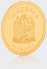 ''African Pride'', 13 Goldmünzen mit Tiermotiven