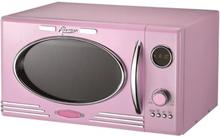 Melissa Retro mikrobølgeovn PINK/ lyserød mikroovn med grill