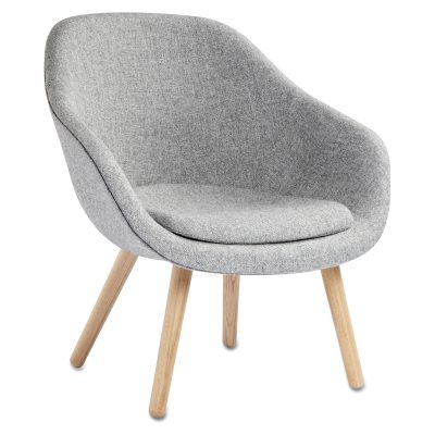 About a Lounge 82 lenestol m pute, grå/eik