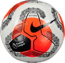 Nike Pl Nk Strike Ball Jalkapallot WHITE/HYPER CRIMSO