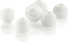 Ekstra øreplugger 3 par Hvit