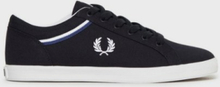 Fred Perry Baseline Canvas Sneakers Navy
