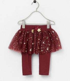 Leggings med kjol nbfRitt Skirt Legging