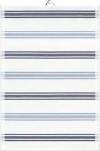 Ekelund - Kinley Håndkle 11 35x50 cm Blå multi striper