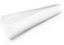Kabel Sleeve med kardborrband - Vit