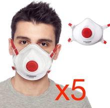 Antgamer 5x CE FFP3 Munskydd Skydd Mun / Mask Skyddsmask hälsa
